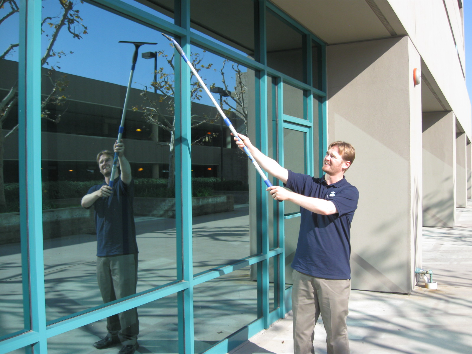 Commercial window cleaning adam kirk window cleaning and for Window washing